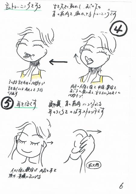 舌トレーニング 顔痩せ